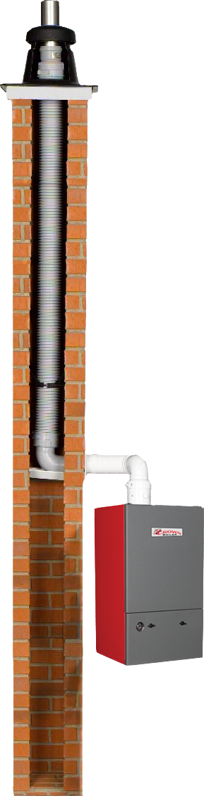 Crown Boiler PPs Flex Vent Picture