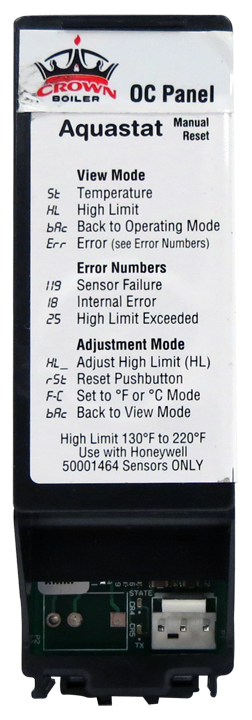 High Limit Reset Card