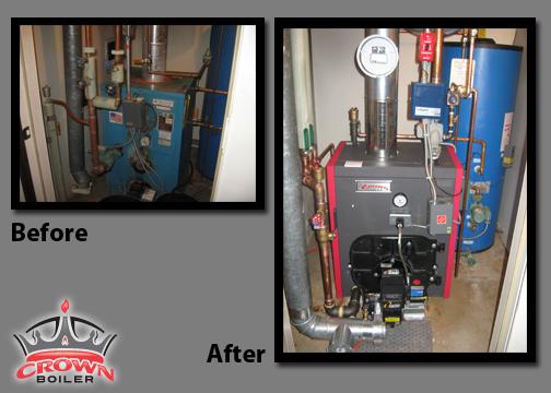 Crown Boiler Home Heating Makeover Winner | Velocity Boiler Works