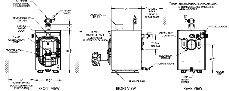 FWZ Spec drawing