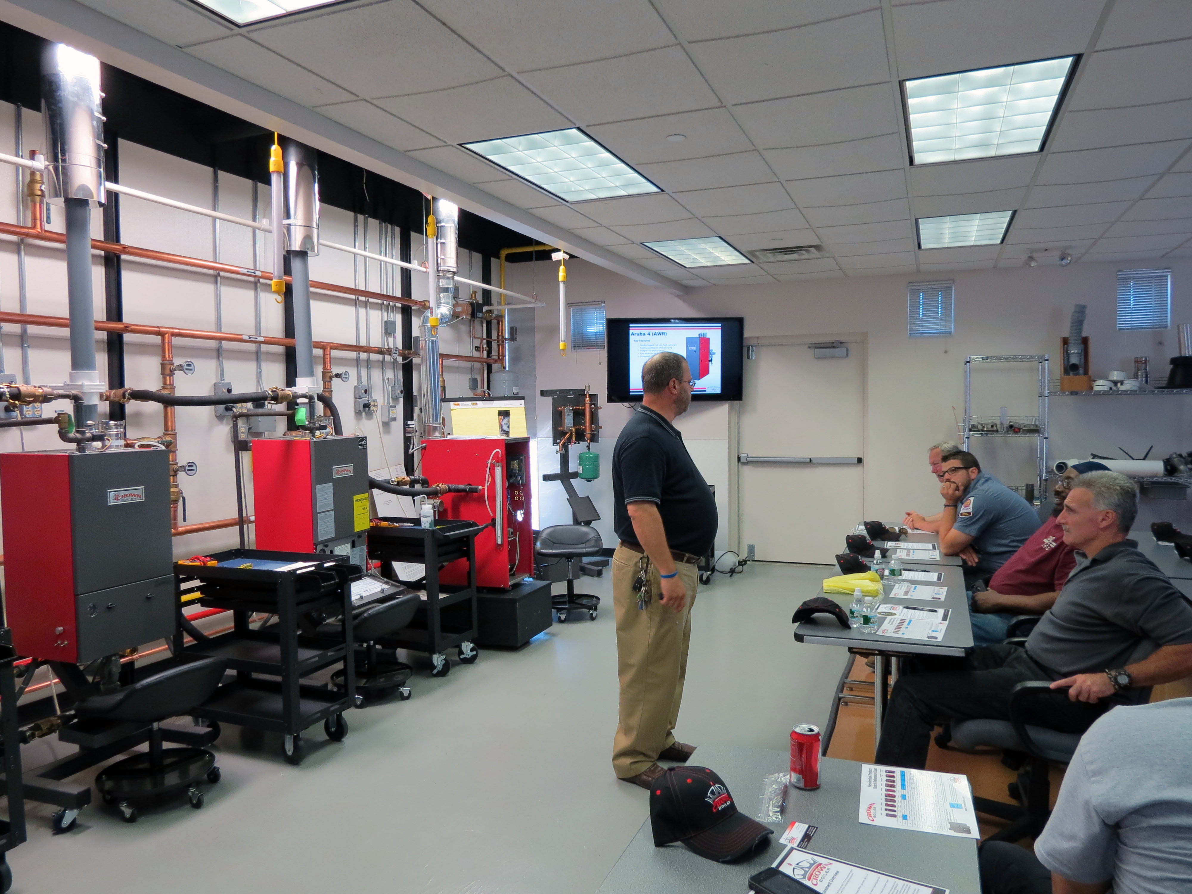 Crown Boiler Launches Summer Quot Lunch Amp Learn Quot Training